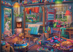 Ravensburger The Weaver's Workshop Jigsaw Puzzle (1000 Pieces)