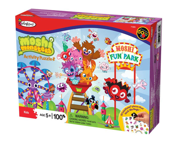 Moshi Monsters Fun Park Jigsaw Puzzle (100 Pieces)