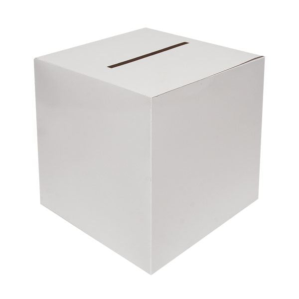 Large Cardboard Suggestion Box