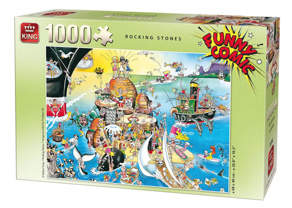 King Rocking Stones Jigsaw Puzzle (1000 Pieces)