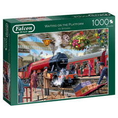 Falcon Deluxe Waiting on the Platform Jigsaw Puzzle (1000 Pieces)