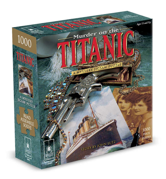 Murder on The Titanic Murder Mystery Jigsaw Puzzle (1000 Pieces)