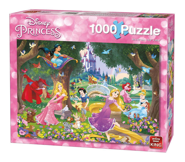 King Disney Princess A Beautiful Day Jigsaw Puzzle (1000 Pieces)