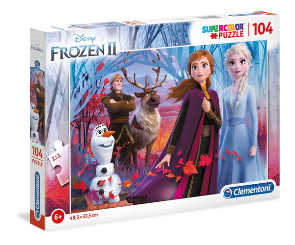 Disney Frozen 2 Supercolor Jigsaw Puzzle (104 Pieces)