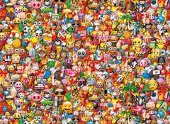 Clementoni Impossible Emoji Jigsaw Puzzle (1000 Pieces)