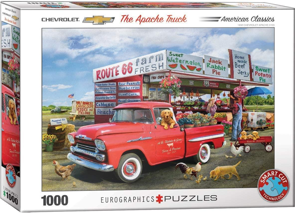 Eurographics The Apache Truck, Chevrolet Jigsaw Puzzle (1000 Pieces)