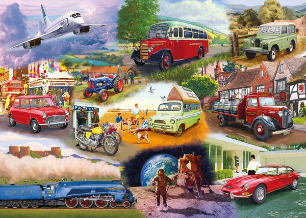 Gibsons Iconic Engines Jigsaw Puzzle (1000 Pieces)