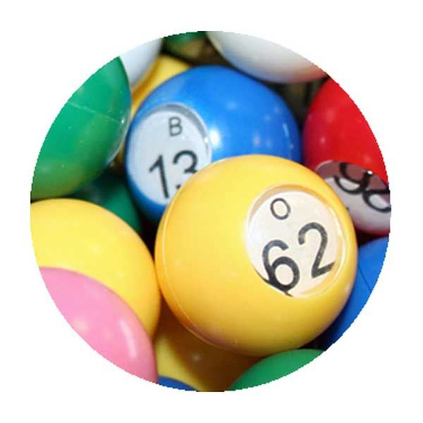 Set of 90 Numbered Bingo Balls - 22mm