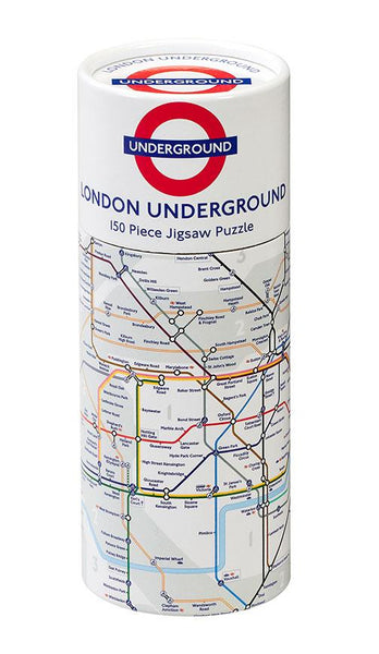 Gibsons TFL London Underground Map Jigsaw Puzzle (150 Pieces) in Gift Tube
