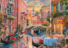 Clementoni Venice Evening Sunset High Quality Jigsaw Puzzle (6000 Pieces)