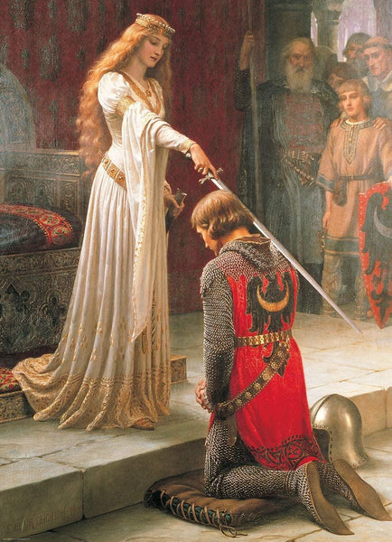 Eurographics The Accolade, Edmund Leighton Jigsaw Puzzle (1000 Pieces)