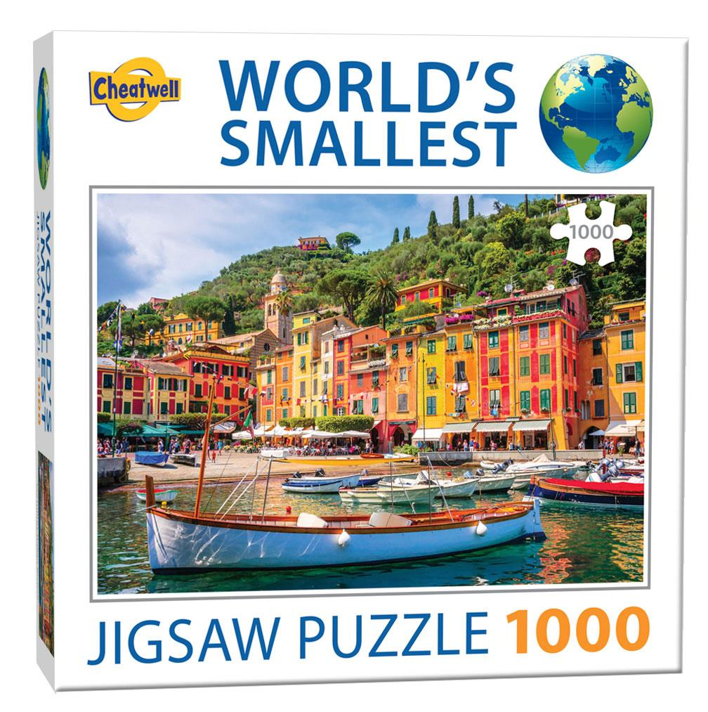 World's Smallest 1000 Piece Jigsaw - Portofino (1000 Pieces)