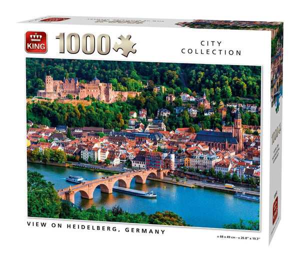 King View Of Heidelberg, Germany  Jigsaw Puzzle (1000 Pieces)