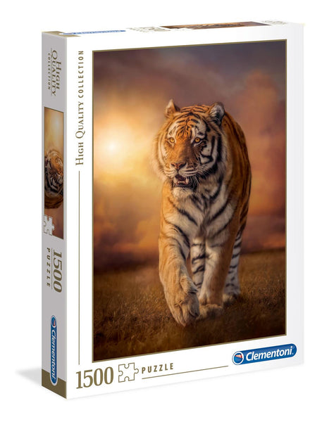 Clementoni Tiger High Quality Jigsaw Puzzle (1500 Pieces)