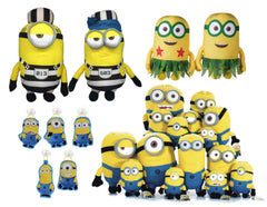 Despicable Me Minions Soft Toy Tombola Game - Full Set