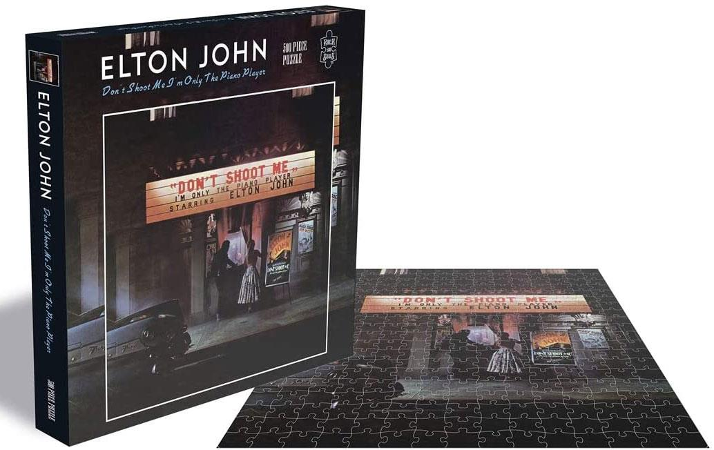 Elton John Don't Shoot Me I'm Only The Piano Player Jigsaw Puzzle (500 Pieces)