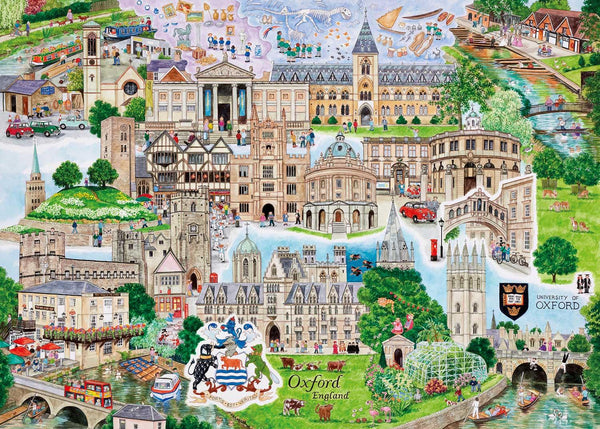 Gibsons Oxford Jigsaw Puzzle (1000 Pieces)
