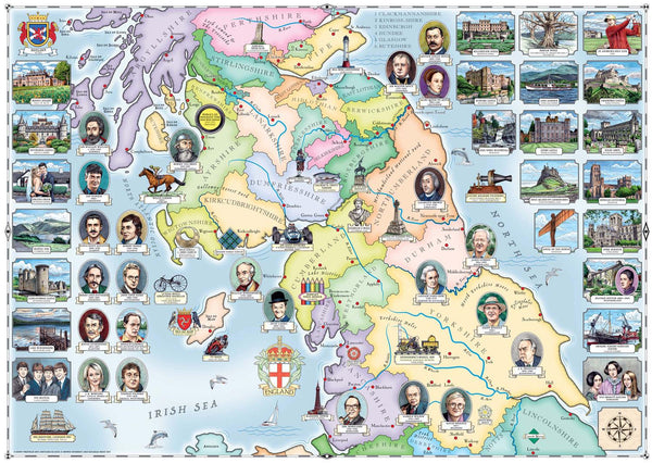 Ravensburger Our Native Lands No.2 The North & Southern Scotland Jigsaw Puzzle (1000 Pieces)