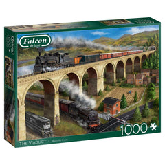 Falcon Deluxe The Viaduct Jigsaw Puzzle (1000 Pieces)