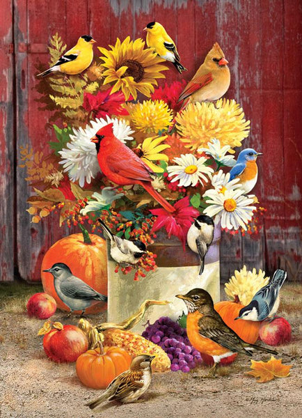 Cobble Hill Autumn Bouquet Jigsaw Puzzle (1000 Pieces)