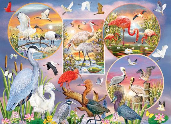 Cobble Hill Waterbird Magic Jigsaw Puzzle (1000 Pieces)