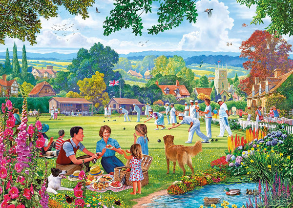 Gibsons Bowling by the Brook Jigsaw Puzzle (100 XXL Pieces Pieces)