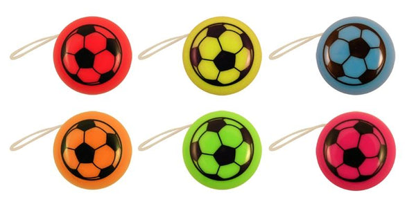 72 Mini Football Yo-Yos