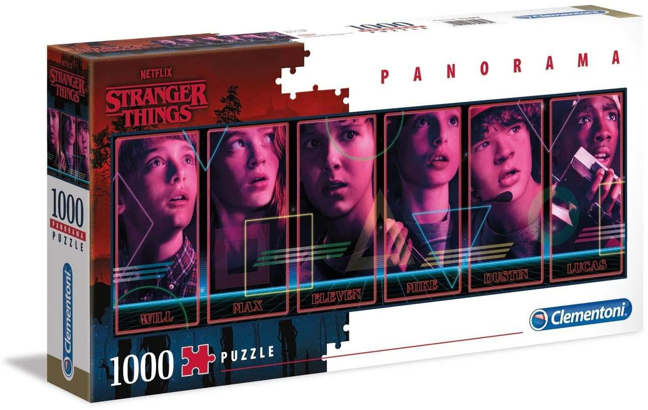 Clementoni Stranger Things Panorama High Quality Jigsaw Puzzle (1000 Pieces)