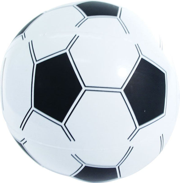 12 Inflatable Beach Ball Style Footballs 35cm