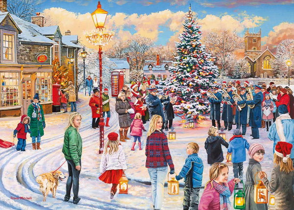 Gibsons Christmas Chorus Jigsaw Puzzle (1000 Pieces)