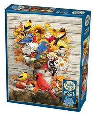 Cobble Hill Fall Harvest Jigsaw Puzzle (500 Pieces)