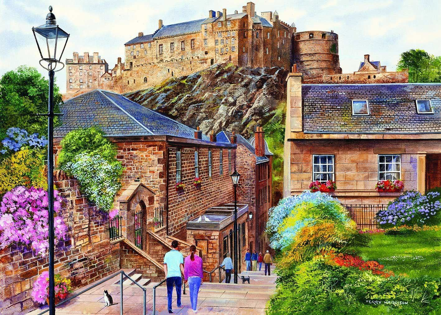 Gibsons Edinburgh - The Vennel Jigsaw Puzzle (1000 Pieces)