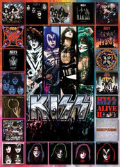 Eurographics KISS The Albums Jigsaw Puzzle (1000 Pieces)