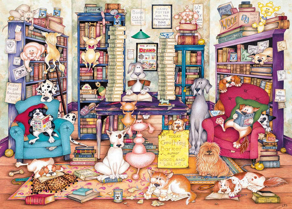 Gibsons Bark's Books Jigsaw Puzzle (1000 Pieces)