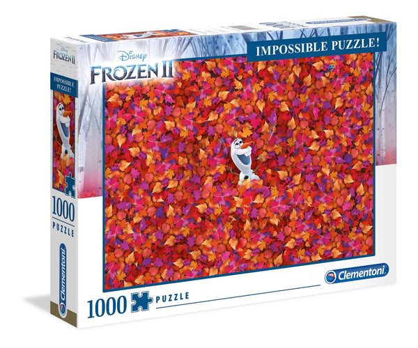 Clementoni Frozen 2 Impossible Jigsaw Puzzle (1000 Pieces)