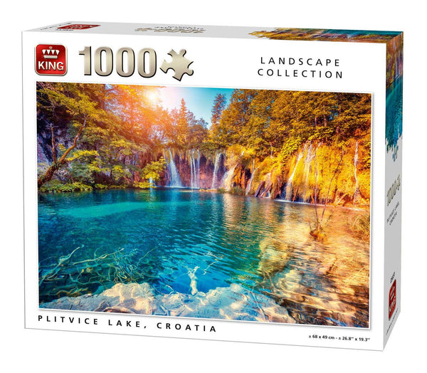 King Plitvice Lake Jigsaw Puzzle (1000 Pieces)