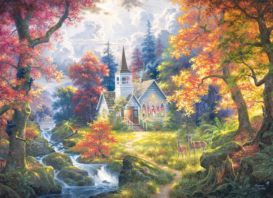 Cobble Hill Chapel of Hope Jigsaw Puzzle (500 Pieces)