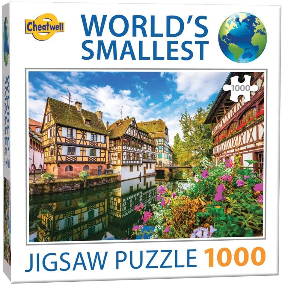 World's Smallest Jigsaw Puzzle Strasbourg (1000 Pieces)