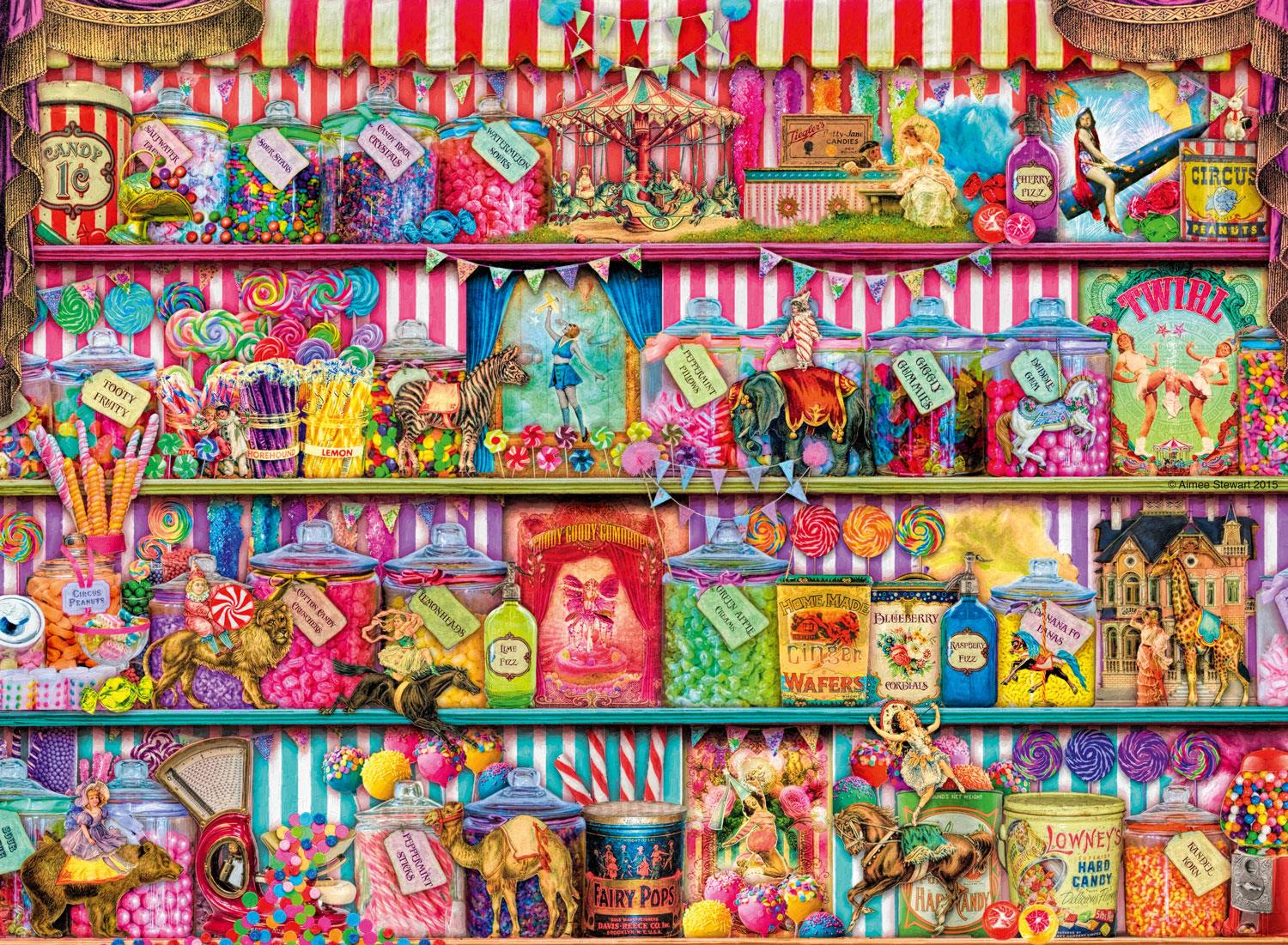 Ravensburger The Sweet Shop Jigsaw Puzzle (500 Pieces)