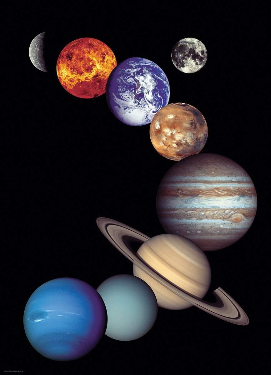 Eurographics NASA The Solar System Jigsaw Puzzle (1000 Pieces)