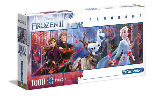 Clementoni Frozen 2 Panorama Jigsaw Puzzle (1000 Pieces)
