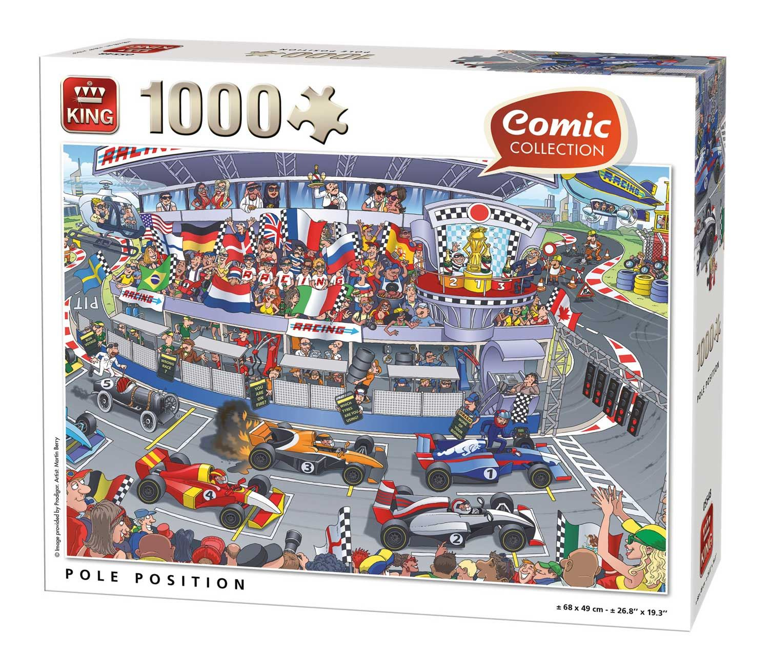 King Pole Position Jigsaw Puzzle (1000 Pieces)