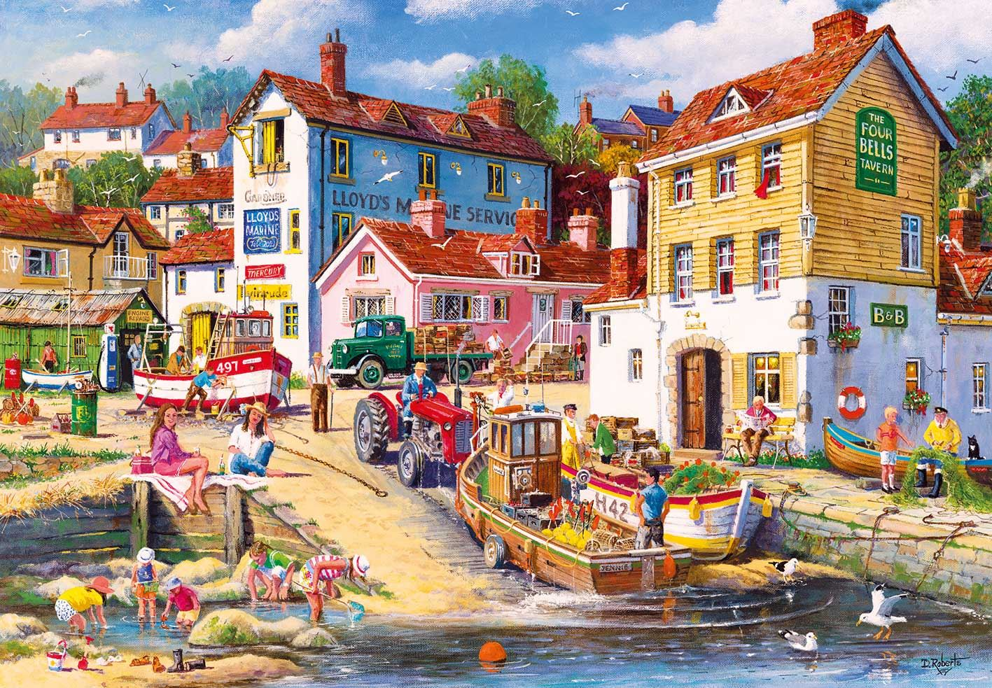 Gibsons The Four Bells Jigsaw Puzzle (2000 pieces)