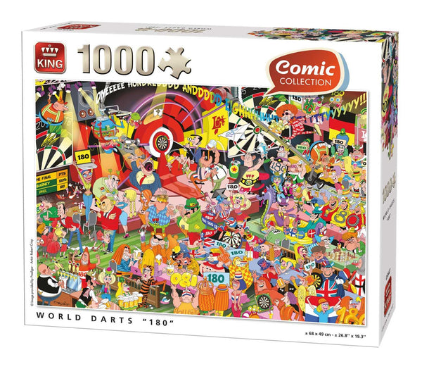 "King World Darts ""180"" Jigsaw Puzzle (1000 Pieces)"