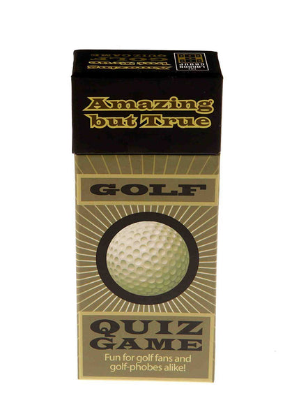 Amazing But True Golf Quiz Game - DAMAGED