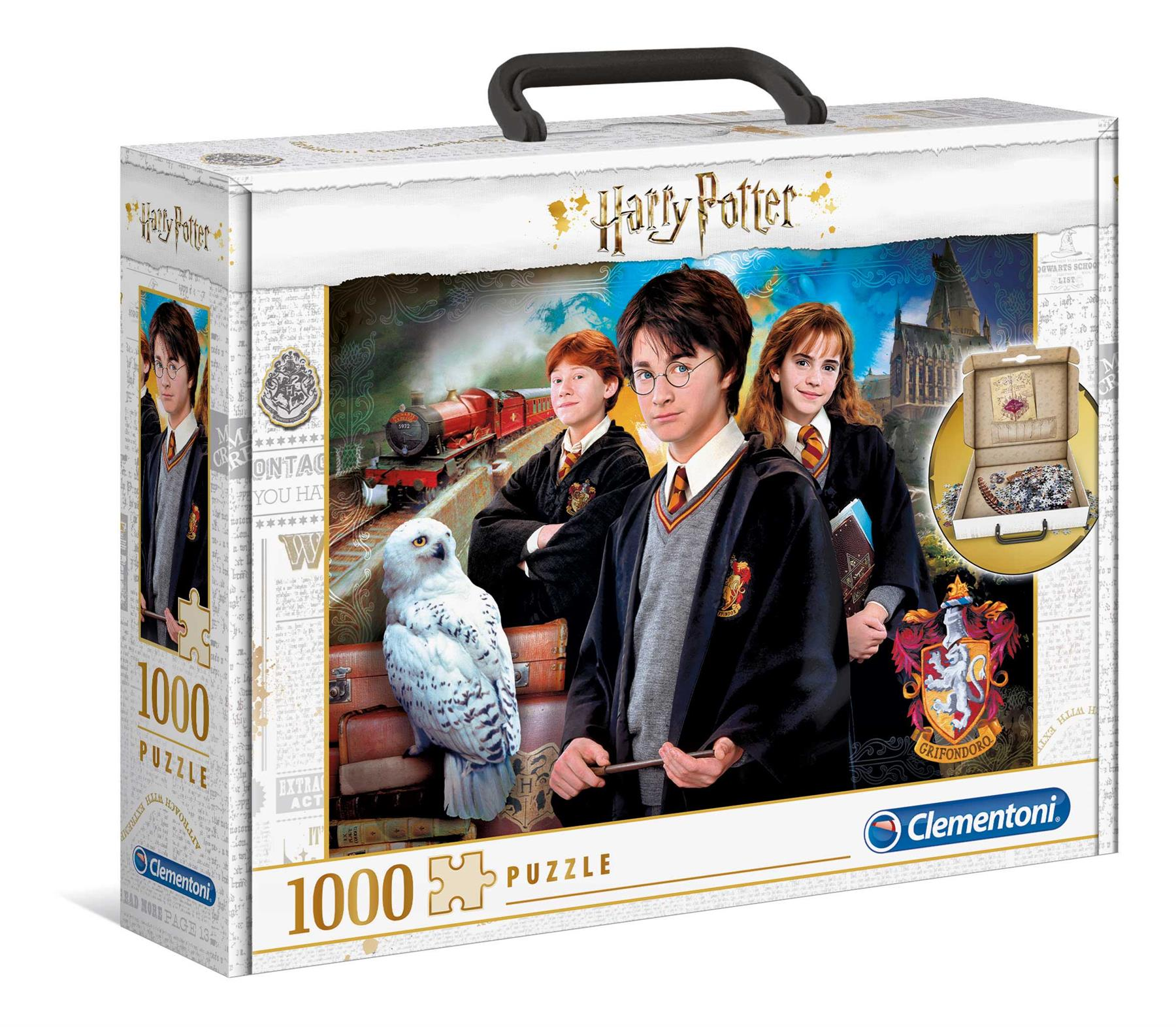 Clementoni Harry Potter Jigsaw Puzzle in Carry Box (1000 Pieces)