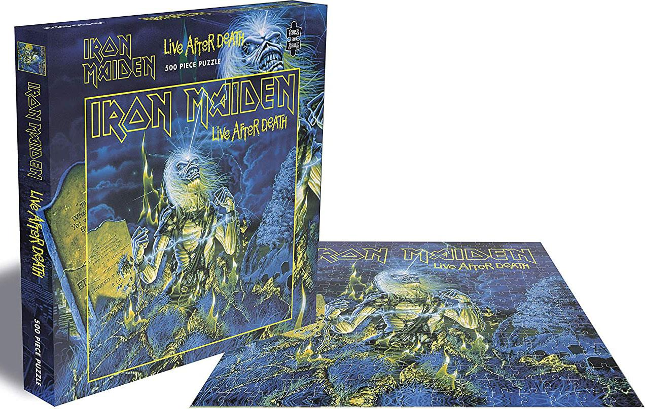 Iron Maiden Live After Death Jigsaw Puzzle (500 Pieces)