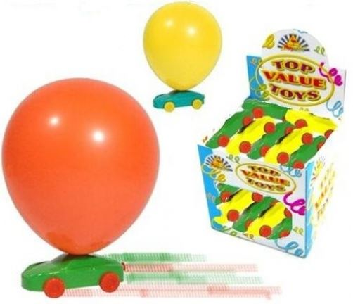 15 Balloon Racer Cars