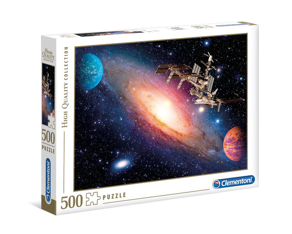 Clementoni International Space Station High Quality Jigsaw Puzzle (500 Pieces)