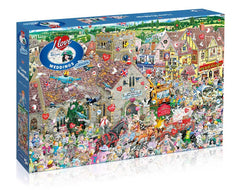 Gibsons I Love Weddings Jigsaw Puzzle (1000 Pieces)